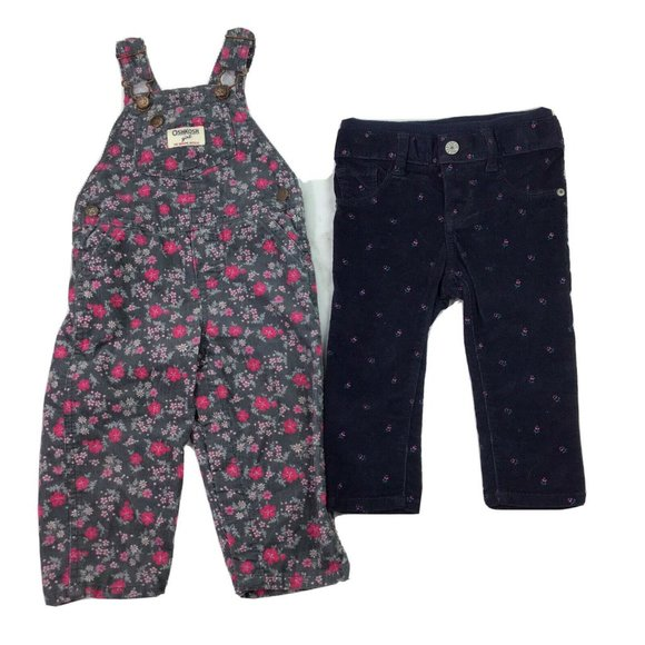 Oshkosh Baby Gap Girls 12 Month Pants Overalls